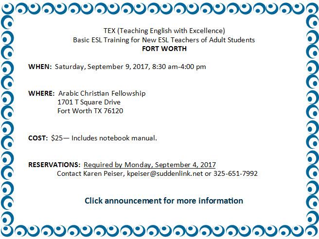 Fort Worth Basic TEX Sept. 2017