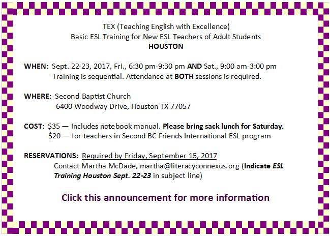 Houston Basic TEX Sept. 2017