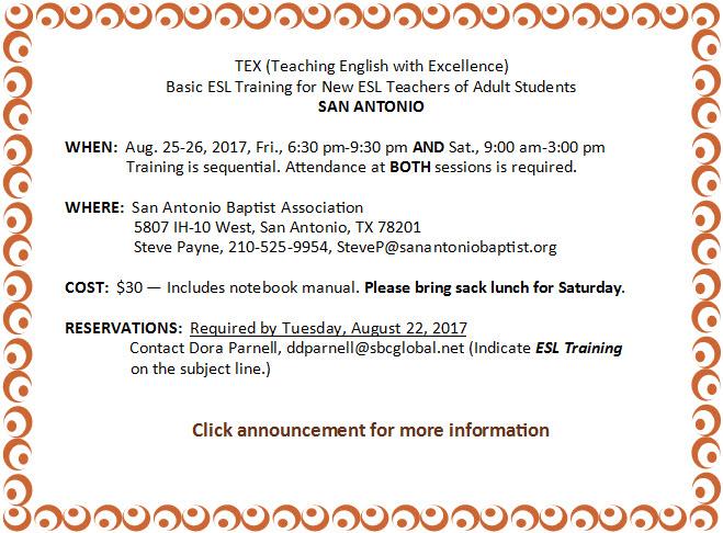San Antonio Basic TEX Aug. 2017