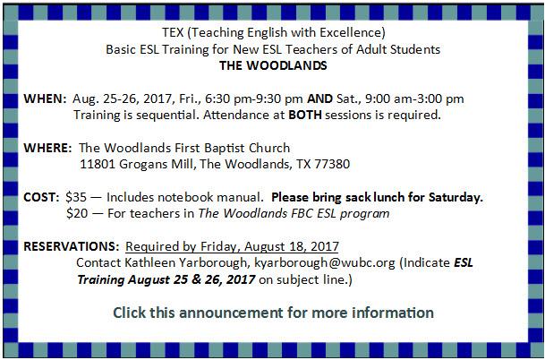 The Woodlands Basic TEX Aug. 2017