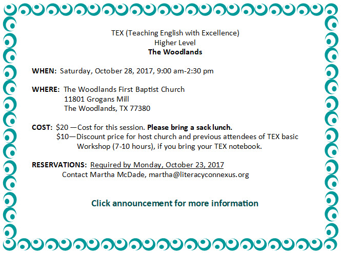 The Woodlands HL Fall 2017