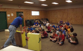 Learning about literacy ministry