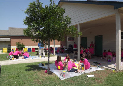 Pink Painting Party