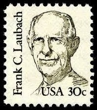 Frank Laubach stamp